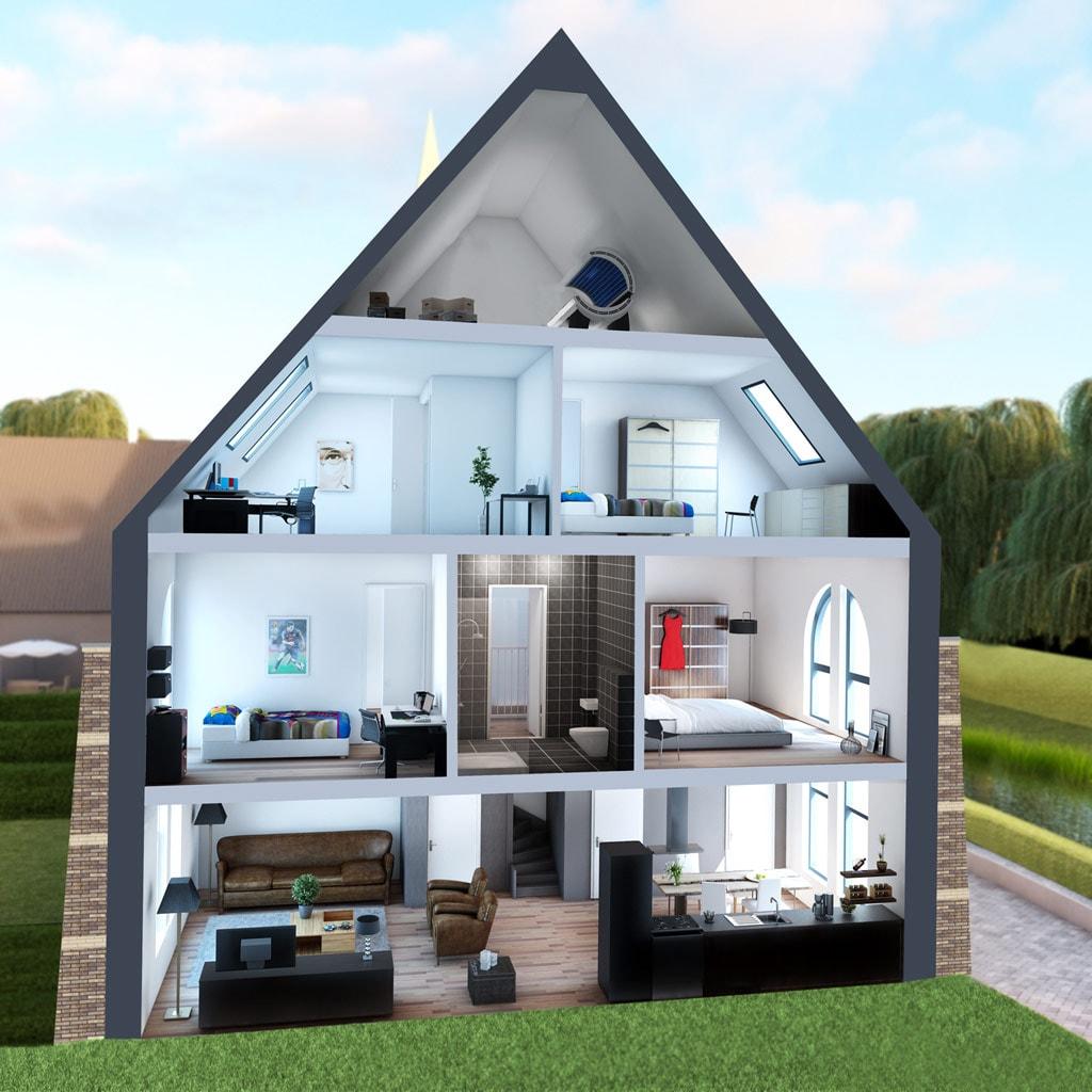 Jabikswoude uniek t huis zoekt nieuwe bewoners vdm for Poppenhuis te koop