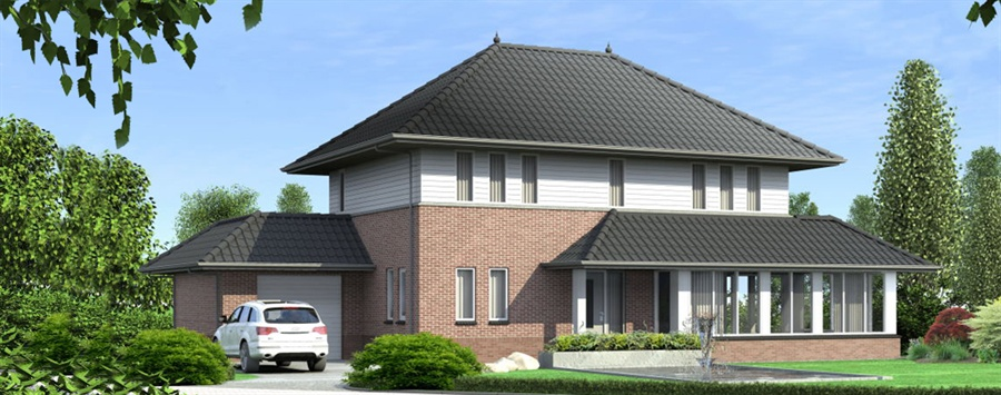 Cataloguswoning vdm woningen for Huizen stijlen