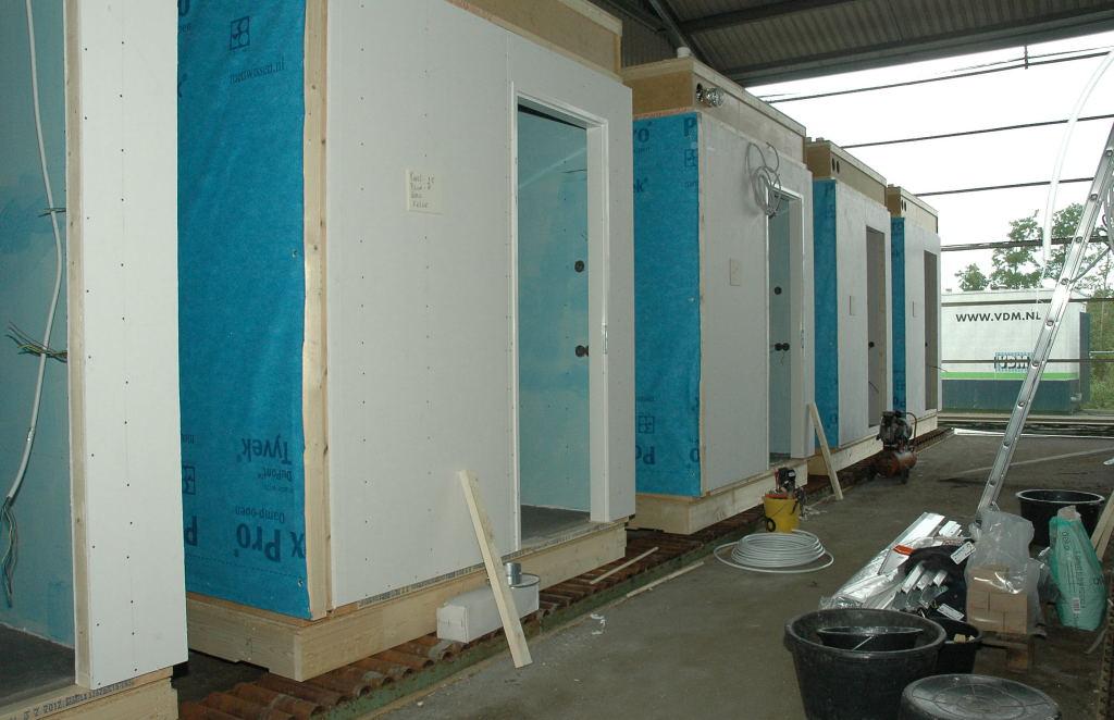 Lambrisering In Badkamer ~ Productie 3d units in volle gang  VDM Woningen